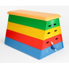 Coloured Junior Vaulting Box